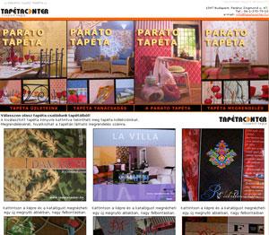 Tapéta Parato weboldal